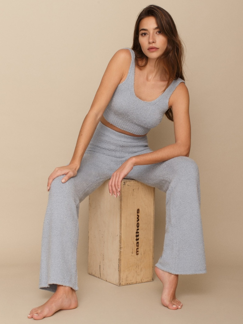 Reformation Isle Two Piece Set in Sky $198
