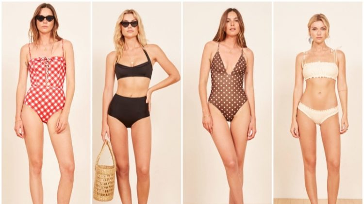 Reformation Swimsuit Summer 2018 collection