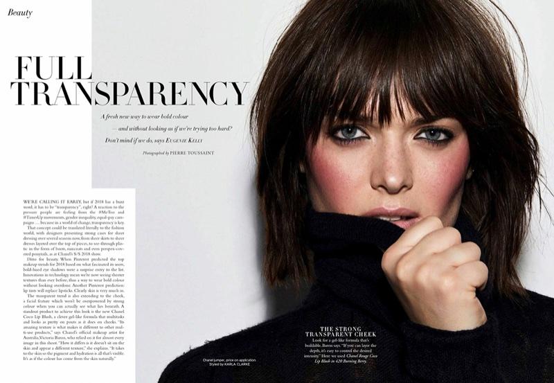 Sam Rollinson | Harper's Bazaar Australia | Chanel Makeup Editorial | Fashion Gone Rogue