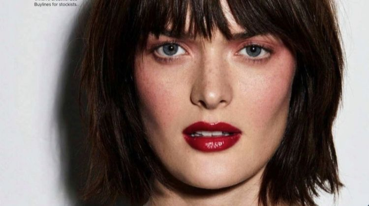 Sam Rollinson Models Chanel Makeup Looks for Harper's Bazaar Australia