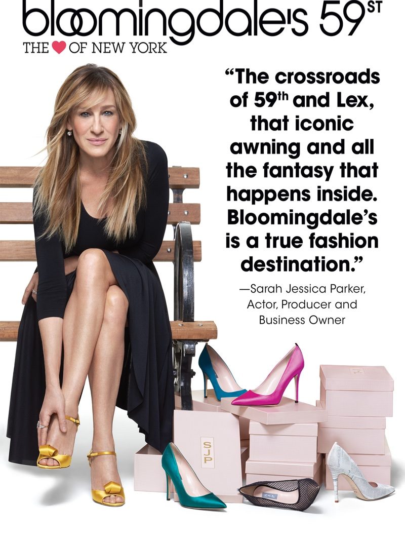 Sarah Jessica Parker appears in Bloomingdale's Heart of N.Y. campaign
