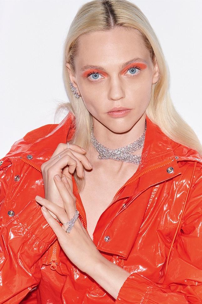 Messika Jewelry enlists Sasha Pivovarova for new campaign
