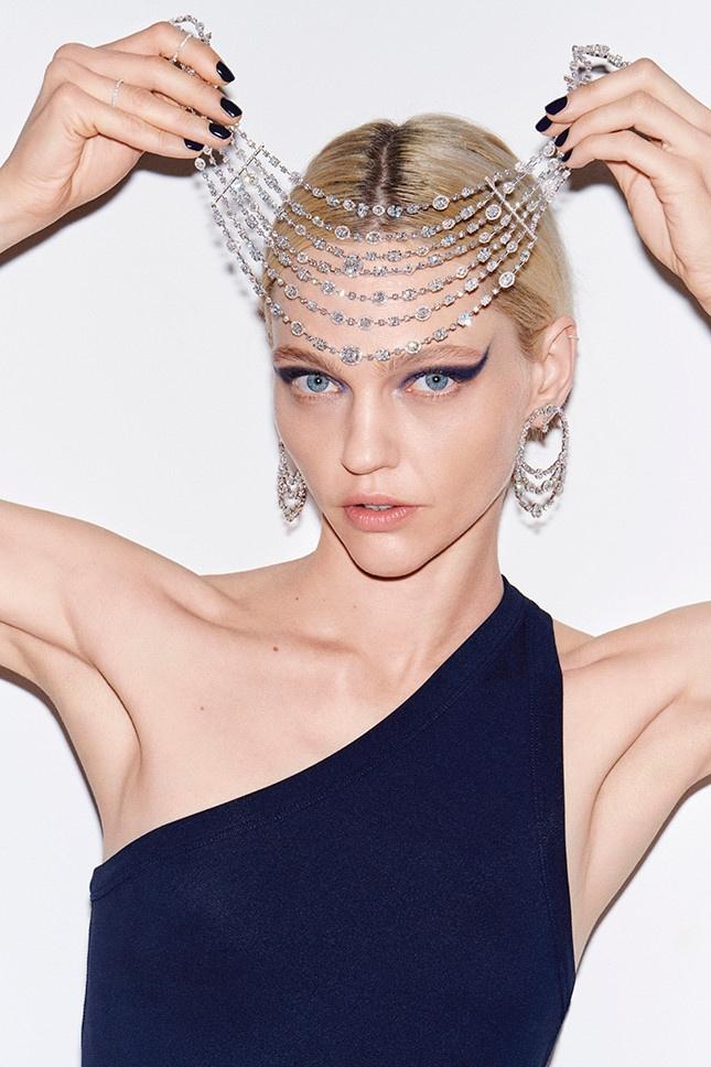 Messika taps model Sasha Pivovarova to wear its High Jewelry collection