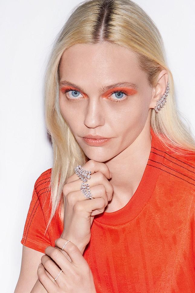 Messika Jewelry unveils new campaign with Sasha Pivovarova