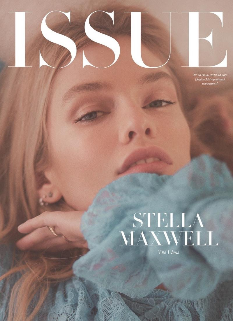 Stella Maxwell on ISSUE Magazine Fall 2018 Cover
