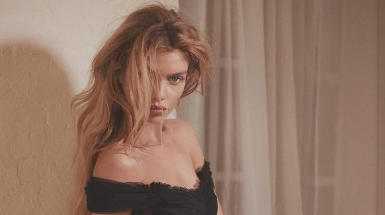 Stella Maxwell Models Sheer Styles for Issue Magazine