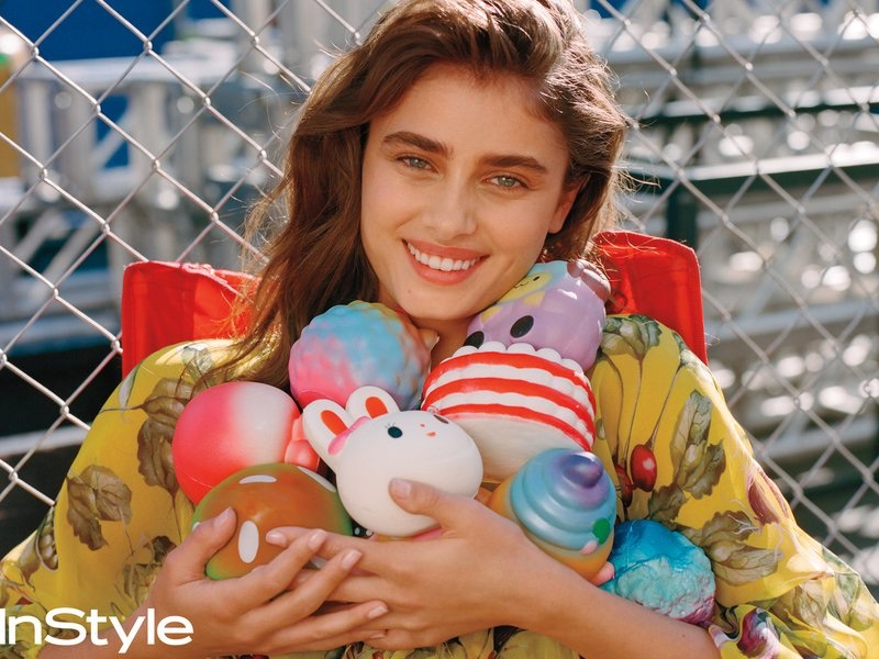 Taylor Hill Takes On Hollywood in Spring Looks for InStyle