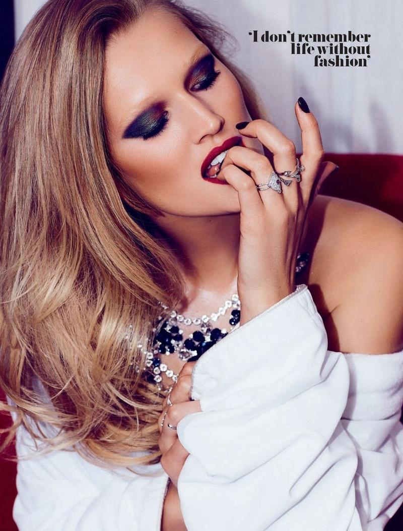 Toni Garrn is a Blonde Bombshell in GQ South Africa