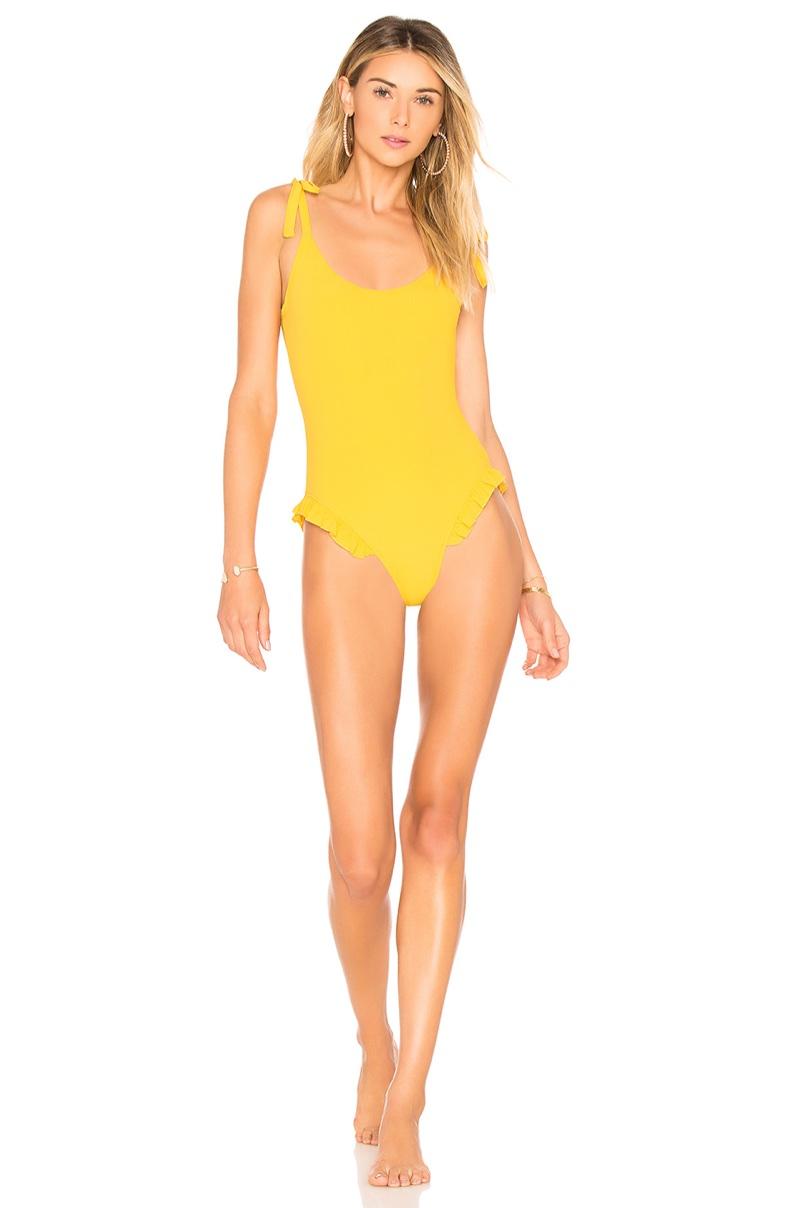 Tularosa Daisy One Piece Swimsuit $118