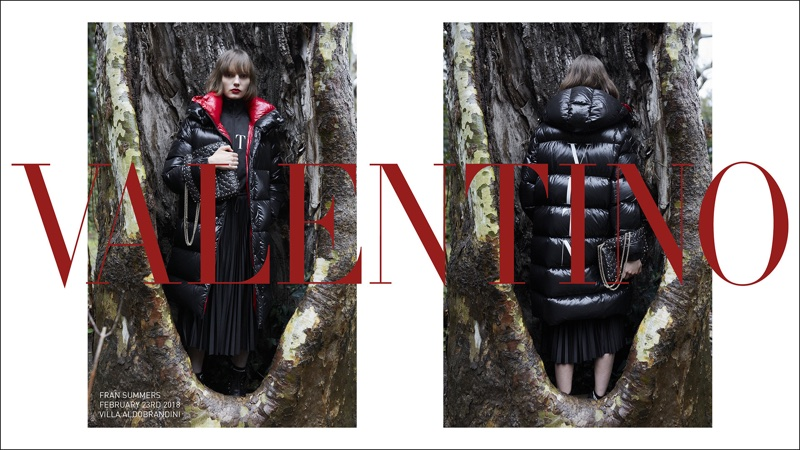 Valentino launches pre-fall 2018 campaign