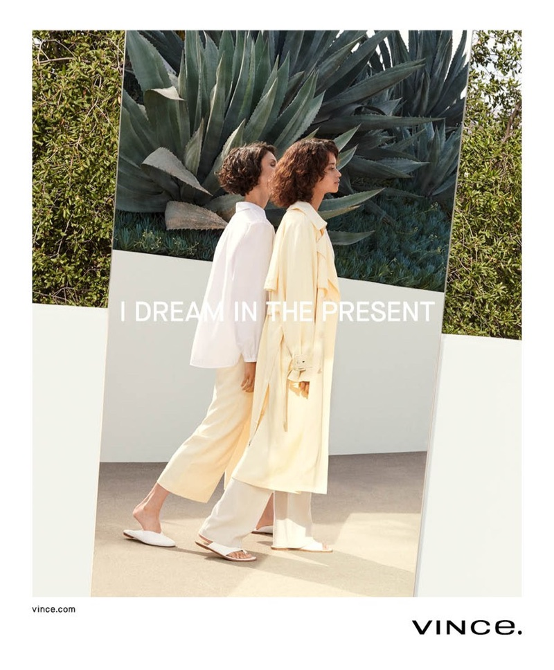 Vince focuses on relaxed silhouettes for spring-summer 2018 campaign