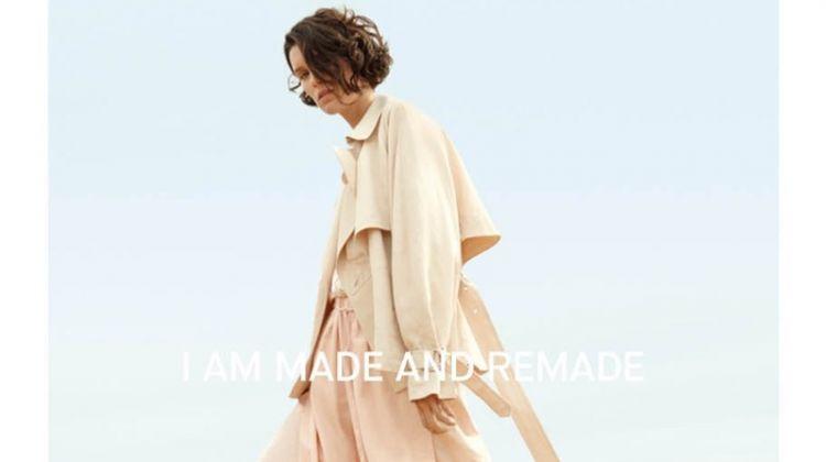 Marte Mei van Haaster stars in Vince's spring-summer 2018 campaign