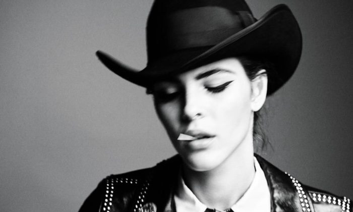 Vittoria Ceretti Poses in Western Fashions for WSJ. Magazine