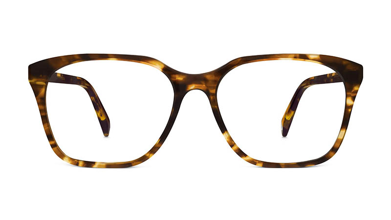 Warby Parker Barnes Glasses in Root Beer $95