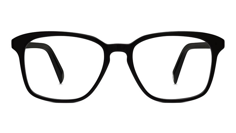 Warby Parker Dawes Glasses in Jet Black $95