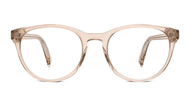 Warby Parker Jane Glasses in Elderflower Crystal $95