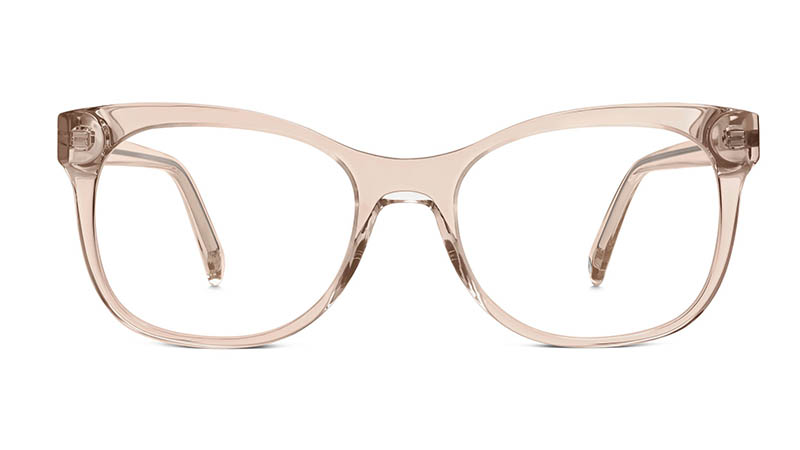 Warby Parker Lucy Glasses in Elderflower Crystal $95