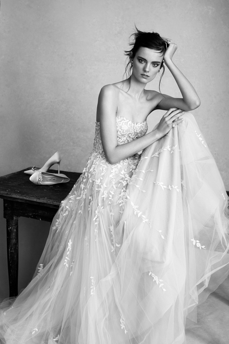 Maaike Klaasen Wears Dreamy Bridal Gowns for Tatler Hong Kong Weddings