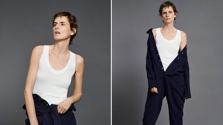 Stella Tennant Gets Casual in Zara's Spring 2018 Denim