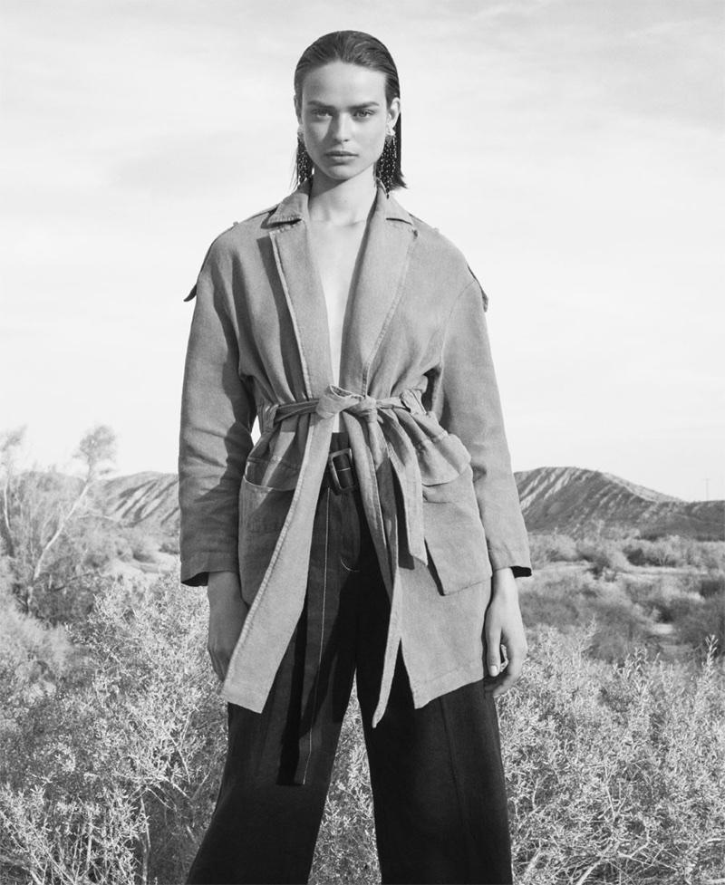Zara unveils Behind the Desert spring-summer 2018 lookbook