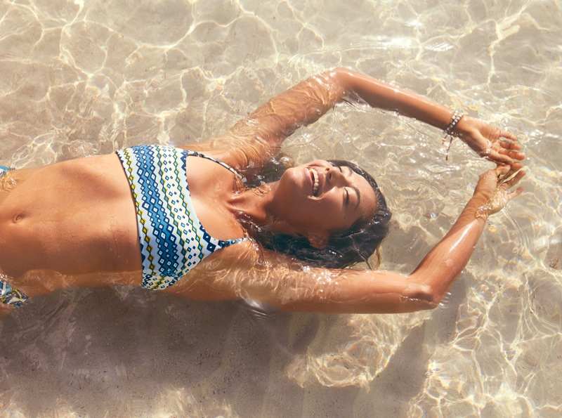 An image from Aerie Swim's summer 2018 campaign