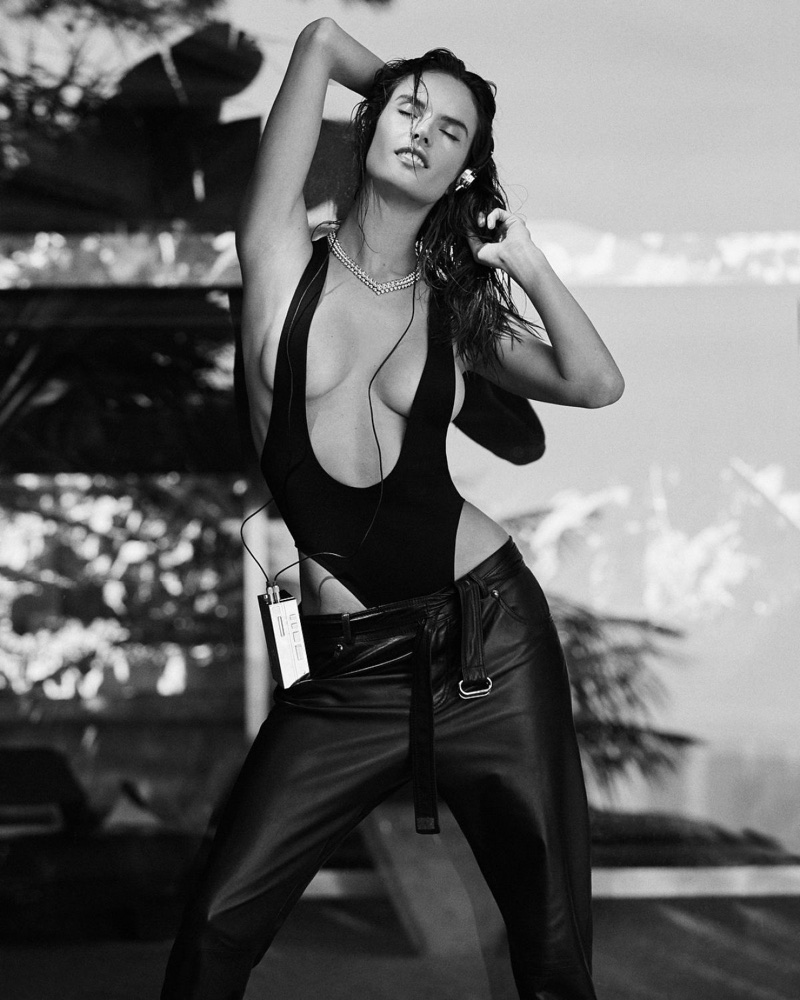 Alessandra Ambrosio Gets Sporty Glam for Tatler Russia