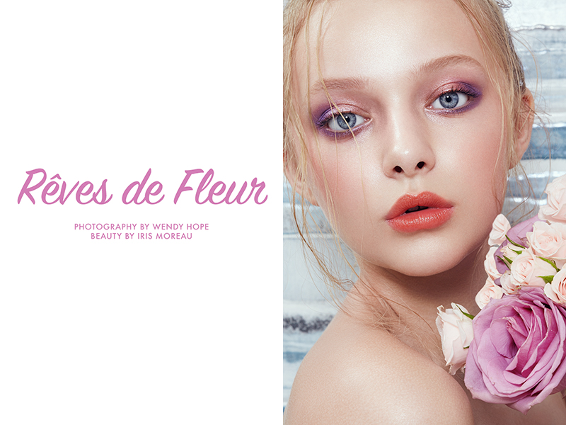 Exclusive: Amiah Miller by Wendy Hope in 'Rêves de Fleur'