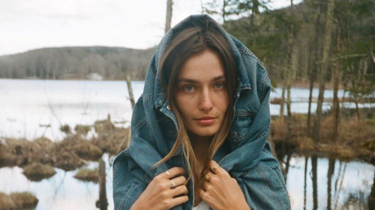 Andreea Diaconu Heads Outdoors for Rag & Bone DIY Project