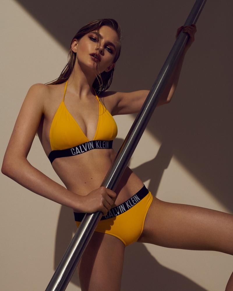 Aneta Pajak Flaunts Her Bikini Body for ELLE Czech