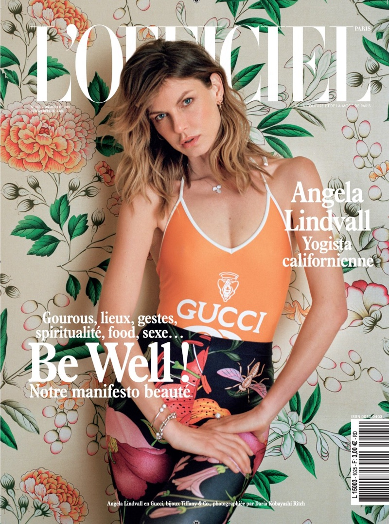 Angela Lindvall Channels Summer Vibes for L'Officiel Paris