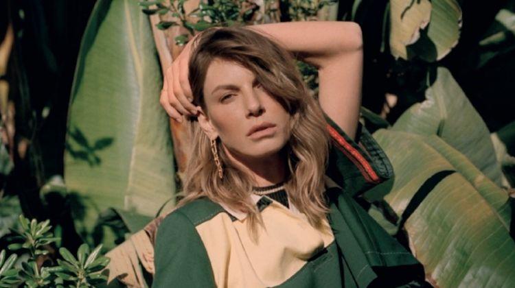 Angela Lindvall Channels Summer Vibes for L'Officiel Paris