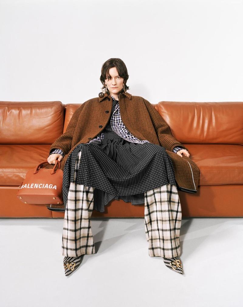 Martina Almquist stars in Balenciaga's pre-fall 2018 campaign