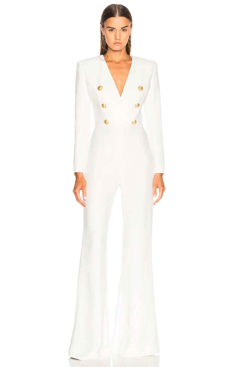 Balmain Double Breasted Jumpsuit $5,250