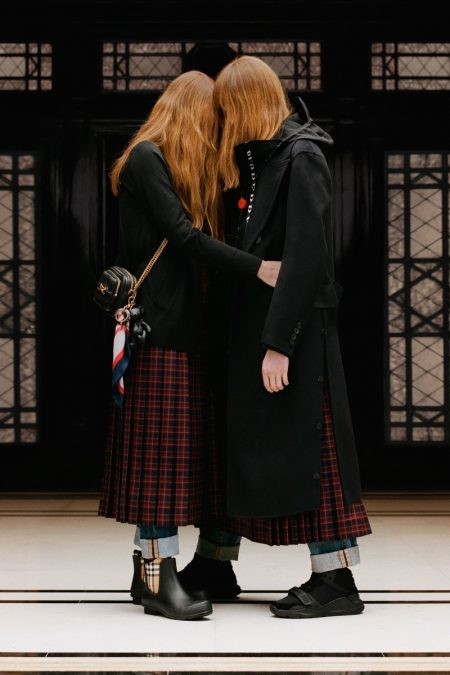 Riccardo Tisci Curates Burberry's Resort 2019 Collection