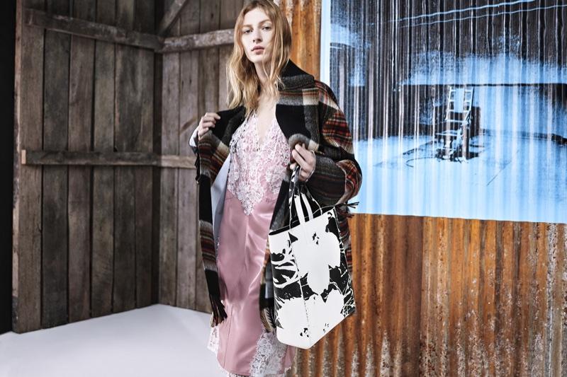 Julia Nobis stars in Calvin Klein's pre-fall 2018 campaign