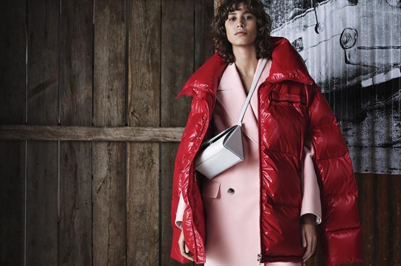Mica Arganaraz stars in Calvin Klein pre-fall 2018 campaign