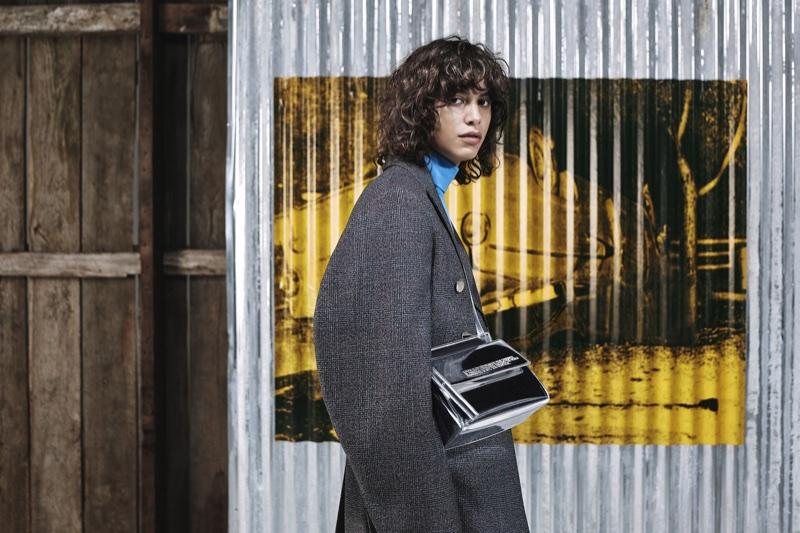 Mica Arganaraz fronts Calvin Klein pre-fall 2018 campaign