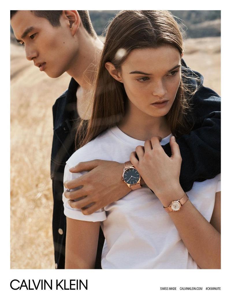Calvin Klein Watches unveils spring-summer 2018 campaign