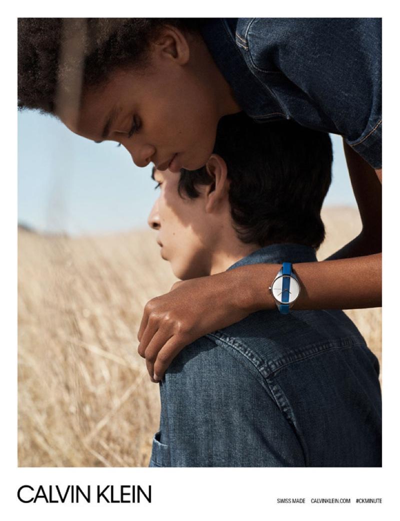 Lachlan Bailey photographs Calvin Klein Watches spring-summer 2018 campaign