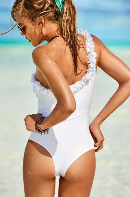 Toni Garrn & Georgia Fowler Heat Up the Bahamas for Calzedonia Swimwear