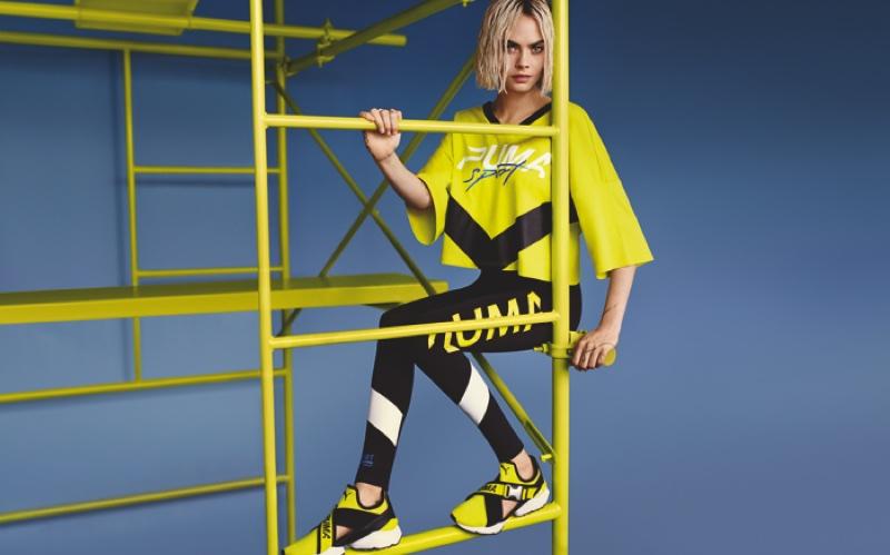 Cara Delevingne stars in PUMA Muse Cut-Out sneaker campaign