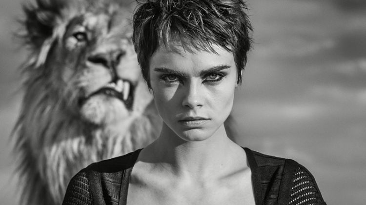 Cara Delevingne Goes Wild in Tag Heuer Campaign