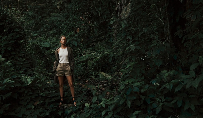 Carolyn Murphy is A Natural Beauty for WSJ. Magazine