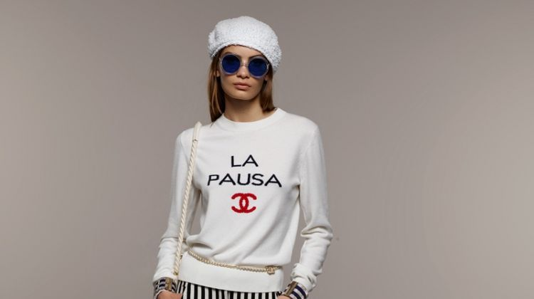 Chanel's cruise 2019 collection channels nautical vibes