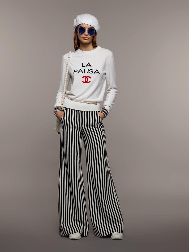 c8f3b3a1de4 Chanel | Cruise 2019 Lookbook | Collection | Nina Marker | Fashion ...