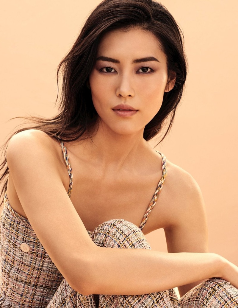 Liu Wen appears in Chanel Les Beiges campaign