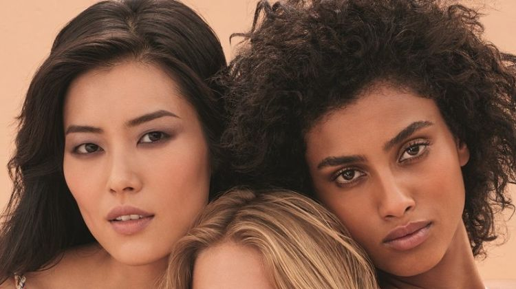 Liu Wen, Anna Ewers and Imaan Hammam star in Chanel Les Beiges campaign