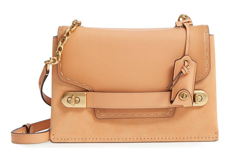 Coach Swagger Chain Leather Crossbody Bag $331.63 (previously $495)
