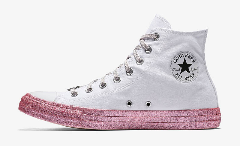 Converse x Miley Cyrus Chuck Taylor All Star High Top $70