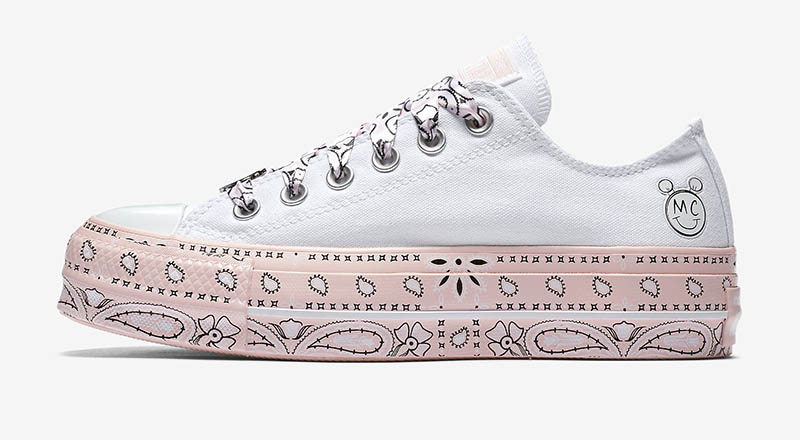 Converse x Miley Cyrus Chuck Taylor All Star Lift Low Top $75